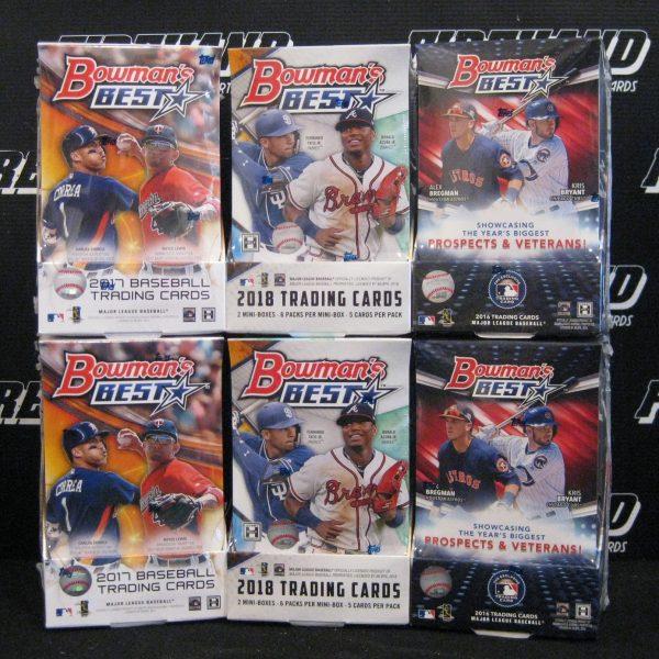 Bowmans Best Baseball 6 Box Mixer 12