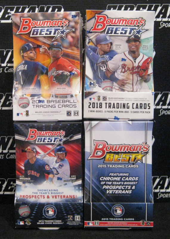 Bowmans Best Baseball 4 Box Multi Year Mixer