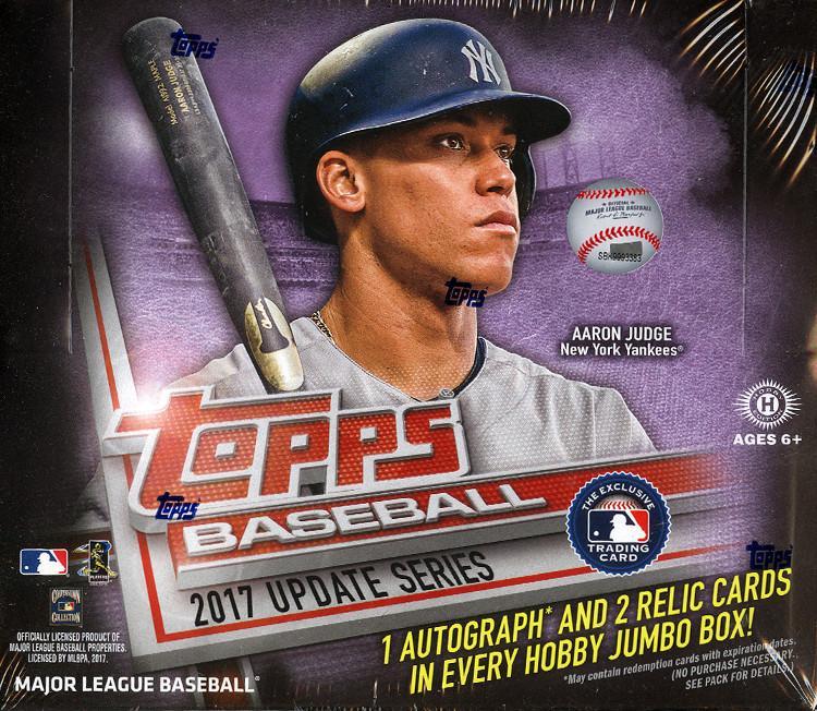 2017 Topps Update Series Baseball Jumbo Box