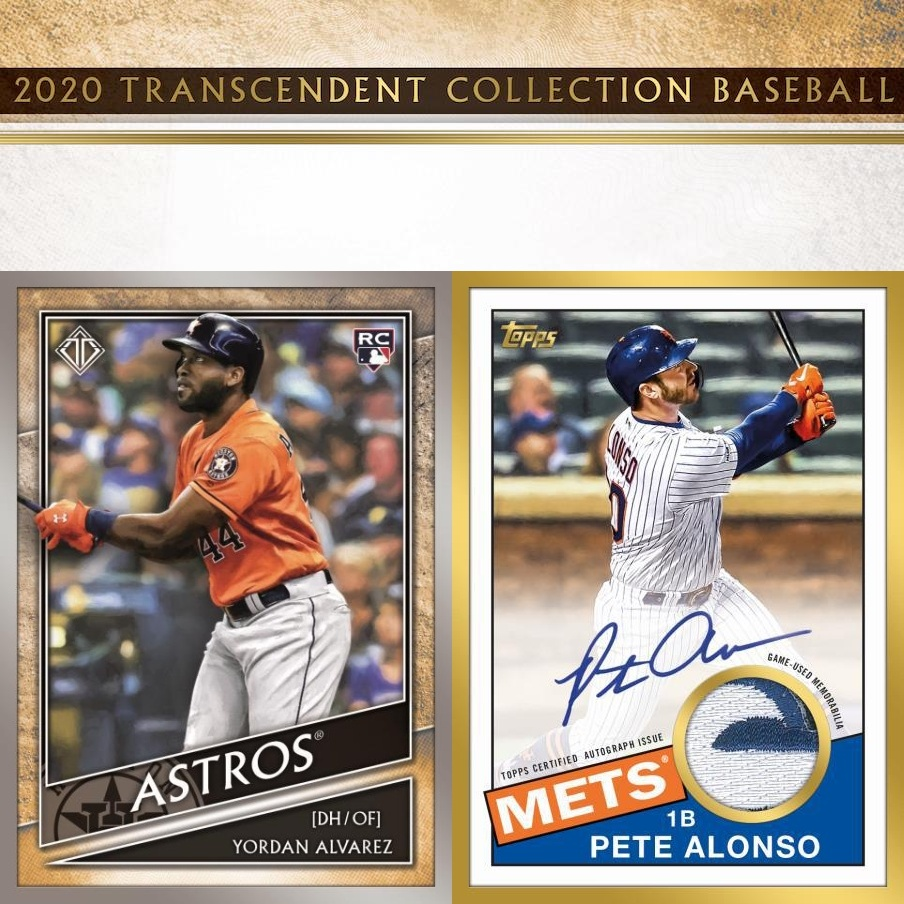 2020 Topps Transcendent Collection Baseball Case Random Hits #1