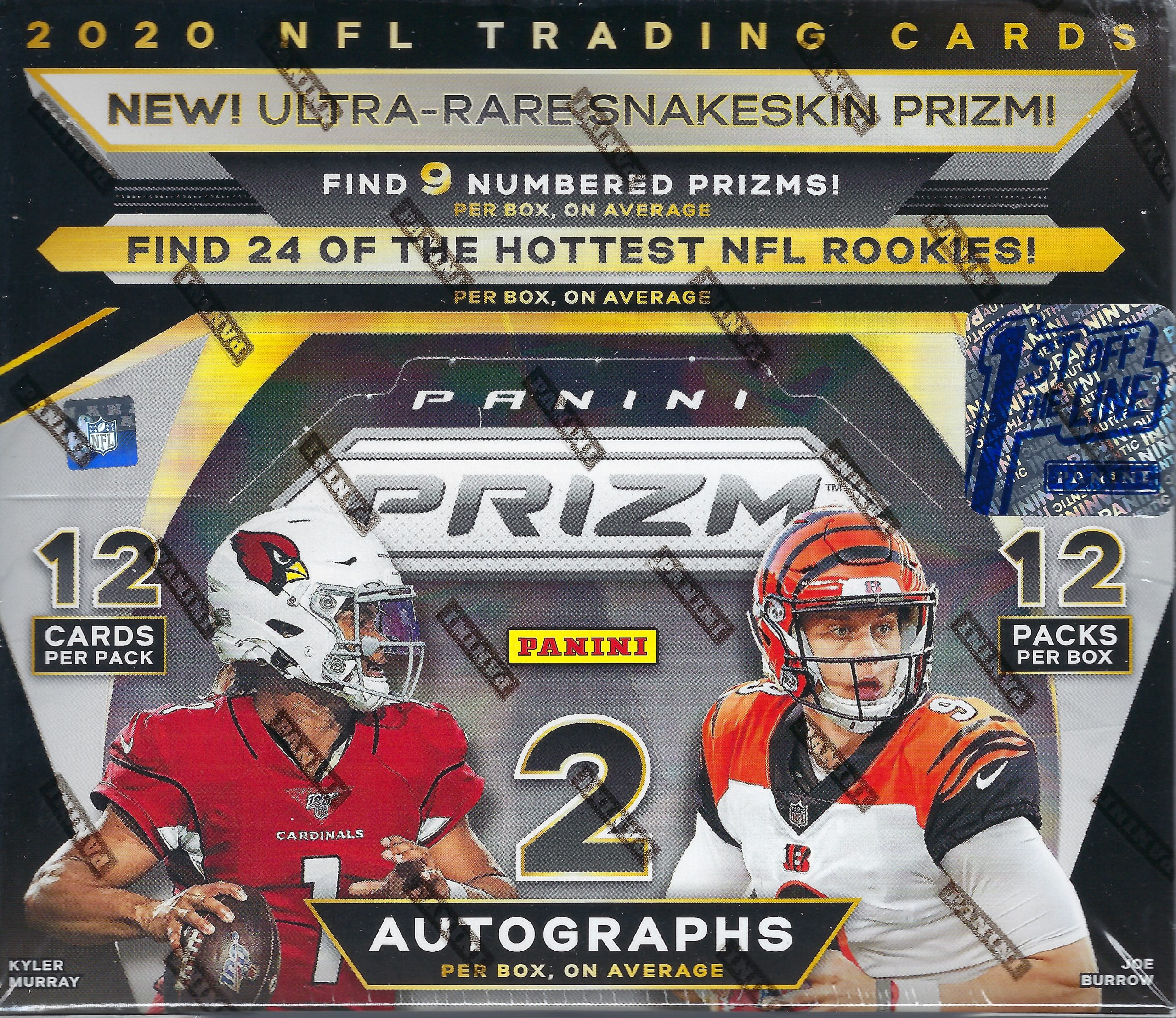 2020 Panini Prizm Football First Off the Line Single Box Random Teams #8